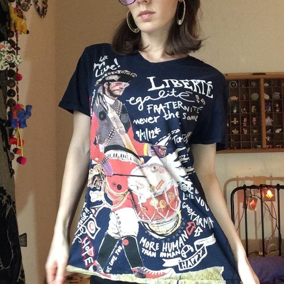 Desigual Tops - Desiqual Liberty Drummer Tee Shirt